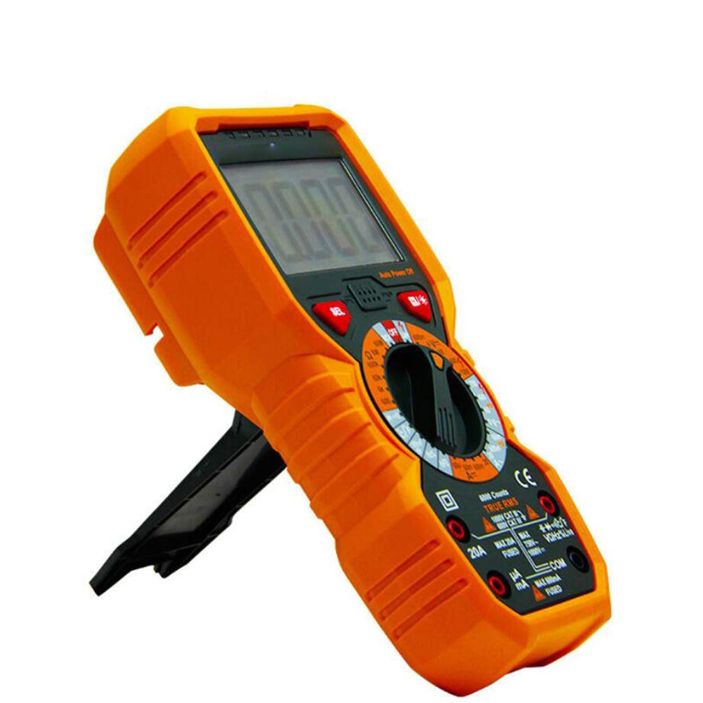 Orange Digital Display Capacitor Electric Multi-Purpose ZYX Multimeter Hand-held high-Precision multimeter Multi-Purpose use