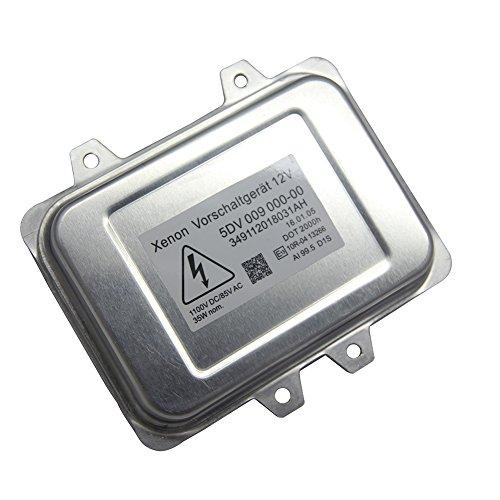 ProXenon Xenon HID Headlight Ballast Control Unit Assembly Module for BMW, Cadillac, Lincoln, Jaguar, Volkswagen, Mercedes, Subaru, Hyundai 5DV 009 000-00 by ProXenon