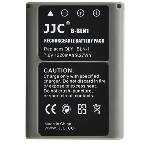 JJC B-BLN1 Battery Replaces Olympus BLN-1 1220Mah For OMD EM1 EM5 EM5II E-P5 EP5 Digital cameras by JJC