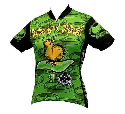 World Jerseys Women's Biker Chick Cycling Jersey WORPT