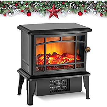 Amazon Com Donyer Power 14 Quot Mini Electric Fireplace