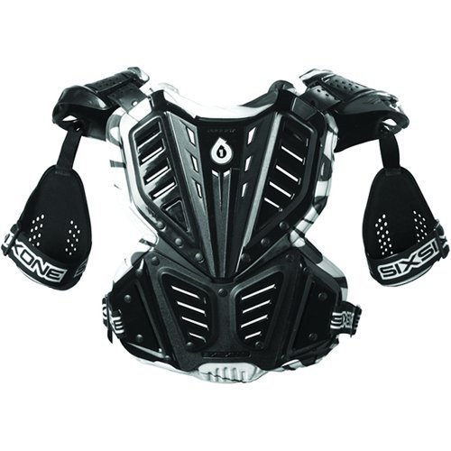 SixSix One Unisex Prodigy Camber Roost Deflector Motorcycle Body Armor - Black/Large