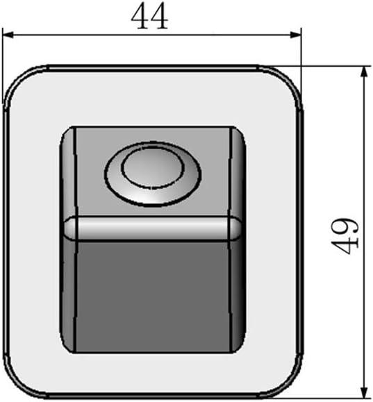 Misayaee Nachtsicht R/ückfahrkamera Einparkkamera Kamera Einparkhilfe Farbkamera R/ückfahrsystem Einparkkamera Wasserdicht, Schwarz f/ür Elantra Avante 2012-2015 //Kia cerato 2013-2017 //Hyundai i30 2014