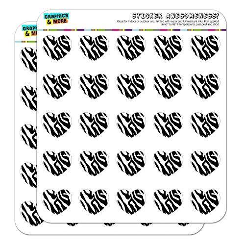 (Zebra Print Black White 1