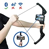 Bluetooth AR Cher Bow Toy,MOZEEDA AR Arrow And Bows Archery Trainning Toy For Kids Youth and Adults,Playing with APP Compatible With All Smartphones
