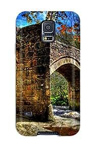 Hot Hot Design Premium Tpu Case Cover Galaxy S5 Protection Case(bridge)