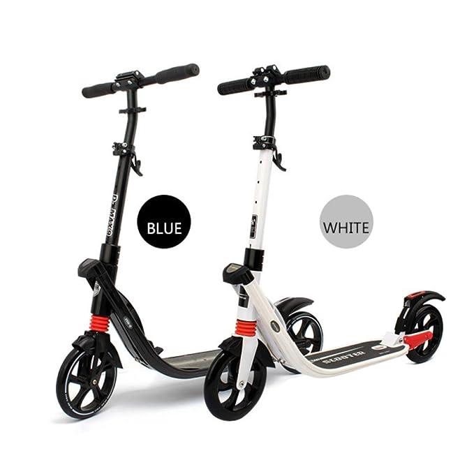 RUIMA Scooters para niños Adultos, toboganes Plegables ...