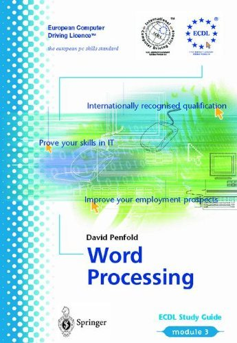Download ECDL Module 3: Word Processing: ECDL – the European PC standard (European Computer Driving Licence) Pdf