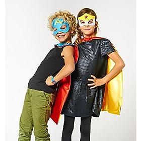 - 51XOajdda0L - 30 Superhero Masks Kids-Super Hero Party Supplies Justice League Birthday Favors