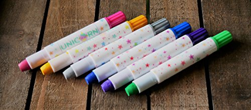 Girls Hair Chalk, Rainbow Hair Chalk, Unicorn Hair Chalk Pens by Twinkle Unicorn (Image #6)