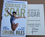 Simone Biles Olympic 5x Gold Medal Gymnast signed