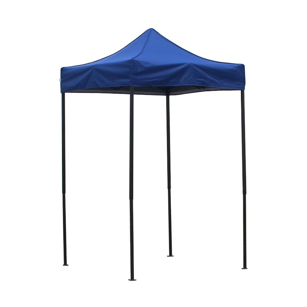 American Phoenix Canopy Tent 5×5 feet Party Tent Gazebo Canopy Commercial Fair Shelter Car Shelter Wedding Party Easy Pop Up Blue
