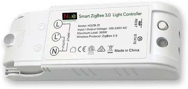 Nue ZigBee Smart Light Switch, Dimmer, Fan Switch, Curtain Blind Switch Power Point GPO, Light Controller and in_Ceiling Dimmer (Light Controller)