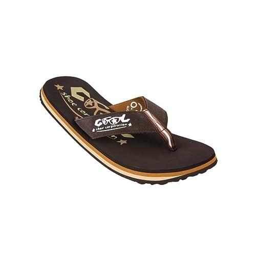 Cool Shoes Original Slight CASTAÑO 2, Marrón Flip Flops ...