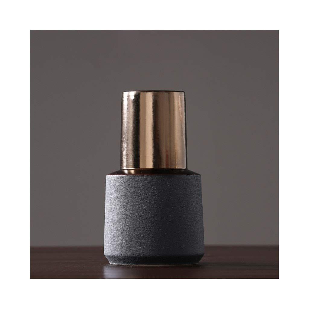 現代のミニマリストの陶磁器の花瓶の装飾家のテレビキャビネットレストラン小さな新鮮な花瓶 (Edition : C) B07STC8XNX  C