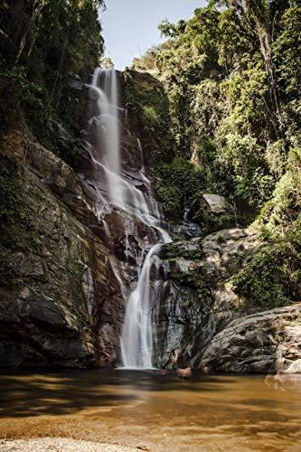 Fotografia Cascada Milagrosa para Decorar Oficina Spa Consultorio 8''x10'' Sin marco by Visual Delight