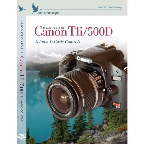 Introduction to the Canon T1I / 500D, Vol. 1: Basic Controls