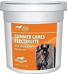 KENTUCKY PERFORMANCE PROD 044042 Summer Games Electrolyte Supplement For Horses, 5 lb