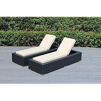 Amazon Com Outsunny Outdoor Patio Rattan Wicker Sofa