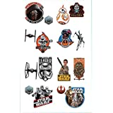 Amscan Star Wars Vii Tattoo Favors, Multi Color