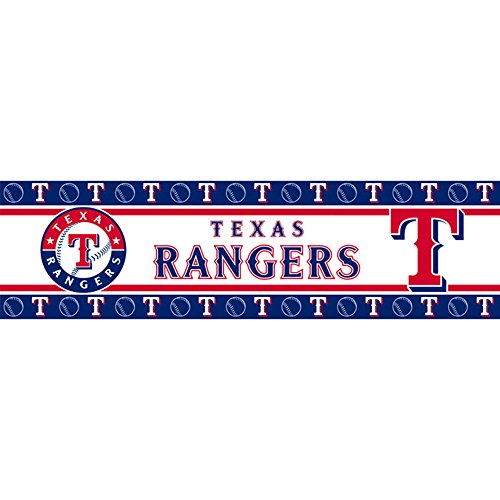 MLB Texas Rangers Wall Border (Toys Wallpaper Border)