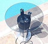Edler Beheizbarer Tisch Bistrotisch Heiztisch Heizstrahler elektrisch 'Modell 2008' 1200Watt von AS-S - 6