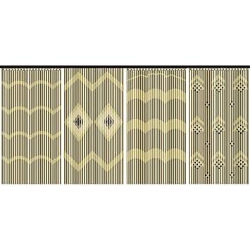 Nouveauté : Magnifique rideau bois et bambou: Amazon.fr: Bricolage