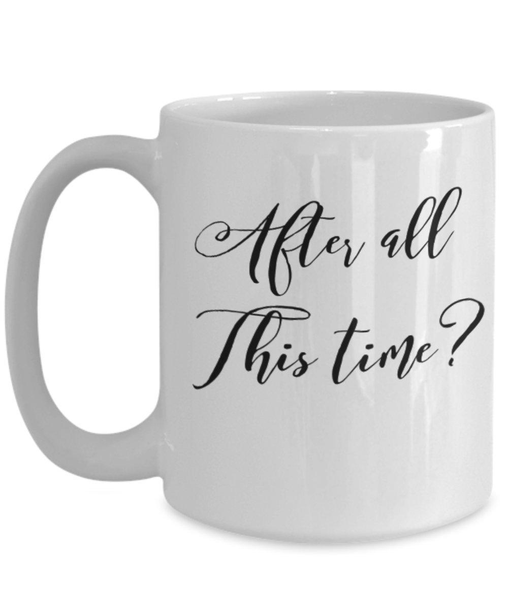 ハリーポッターカップルギフト – After All This Time コーヒーカップとマグカップセット 15oz GB-2056038-43-White 15oz ホワイト B077X1BN27