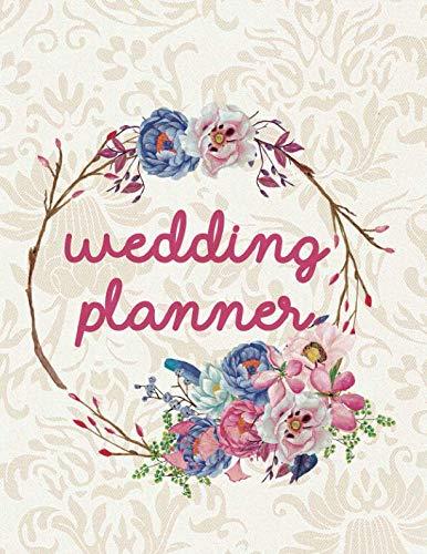 Wedding Planner: Wedding Planner Organizer Checklist Journal Notebook for Newly Engaged Couple Cream