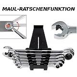 Würth Zebra Jeu de clés mixtes à cliquet 8-19mm