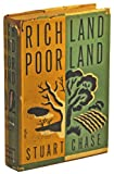 Rich Land, Poor Land, Stuart Chase, 040401478X
