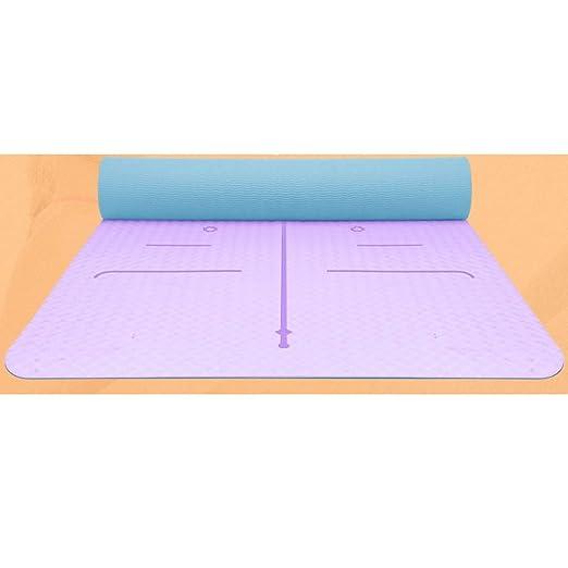 SHWSM Estera de Yoga Estera de Yoga TPE Principiante ...