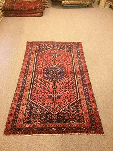 3.11X6.10 Feet Red Rug Red Carpet Vintage Carpet Handicraft Rug Handwork Rug Handmade Rug Handmade Carpet Vintage Rug Code:P310