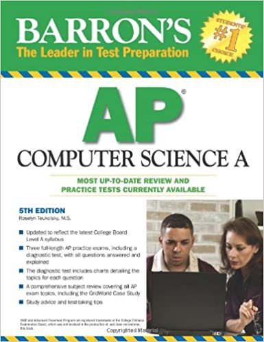 Amazon barrons ap computer science a 9780764143731 roselyn barrons ap computer science a 5th edition fandeluxe Gallery