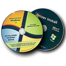 Windows 7 All Reinstall Install / Repair System OS Disc 32 bit 64 bit SP1 Starter Home Basic Home Premium Professional Ultimate DVD