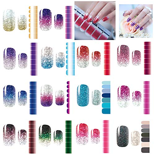 Sheets Stickers Adhesive Decals Manicure