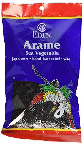 Eden Foods Seaweed Arame Wild, 2.1 oz (Sea Wakame Vegetable)