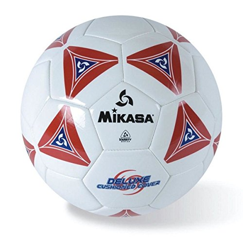 Mikasa Serious Soccer Ball (Red/White, Size 4)