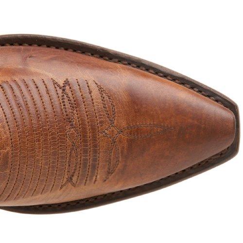 1883 Av Lucchese Kvinners N4540.54 Boot Tan Burnish
