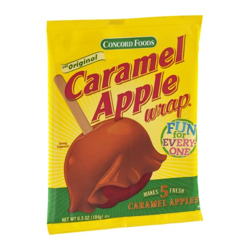 Concord Caramel Apple Wrap, 6.5-Ounce Wraps (VALUE Pack of 24 Packages)
