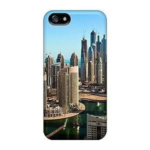 Mwaerke Perfect Tpu Case For Iphone 5/5s/ Anti-scratch Protector Case (dubai Buildings)