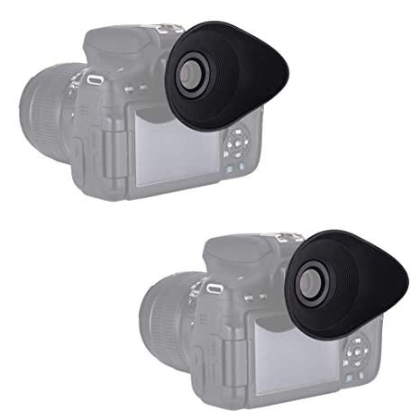 PROfezzion Visor Ocular Eyecup para EOS 6D, 6D Mark II, 5D, 5D ...