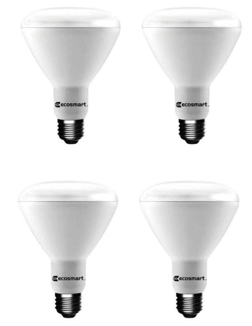 EcoSmart 75-Watt Equivalent BR30 Dimmable LED Light Bulb Daylight 8-Pack