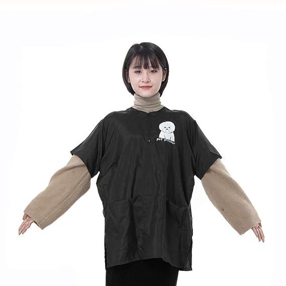 DANTB High Grade Pet Uniform Gown Waterproof Teñido Antiestático Beautician Transpirable Dedicado A Los Hospitales Escolares: Amazon.es: Belleza