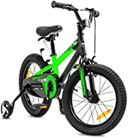 NB Parts - Bicicleta infantil para niños y niñas, BMX, a partir de 3 años, 12 pulgadas / 16 pulgadas, color verde opaco, tamaño 16: Amazon.es: Deportes y aire libre