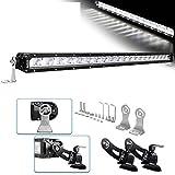 22 led light bar single row - LED Light Bar Kit Rigidhorse 22