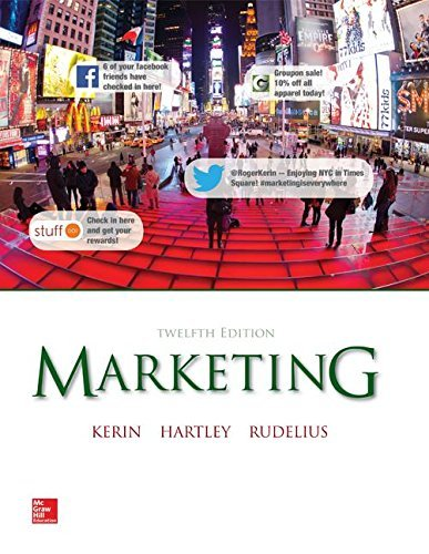 Marketing, 12th Edition by Roger A. Kerin (January 21,2014)