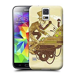 Unique Phone Case Art wall clock vanguarda Hard Cover for samsung galaxy s5 cases-buythecase by lolosakes