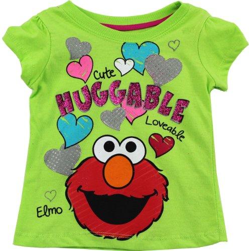 Sesame Street Little Girls T Shirt