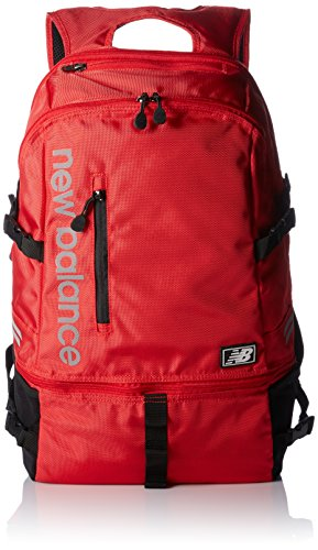 (New Balance Commuter V2 Backpack, Team Red, One)